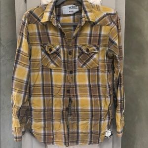 Soft Vintage Pipeline Flannel